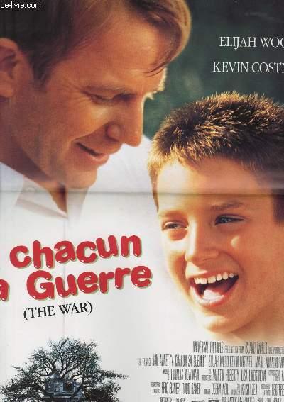 AFFICHE DE CINEMA - A CHACUN SA GUERRE