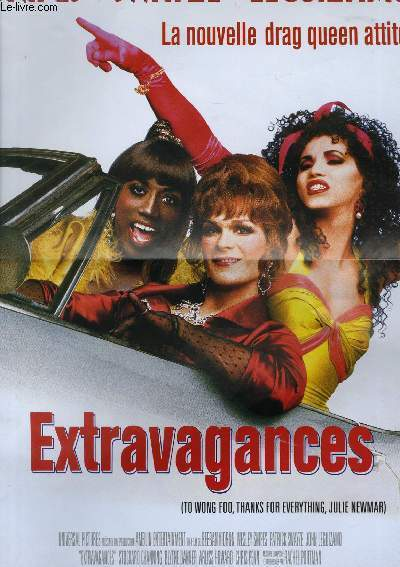 AFFICHE DE CINEMA - EXTRAVAGANCES