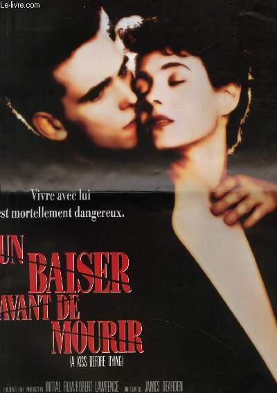 AFFICHE DE CINEMA - UN BAISER AVANT DE MOURIR