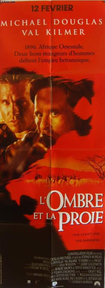 AFFICHE DE CINEMA - L'OMBRE ET LA PROIE