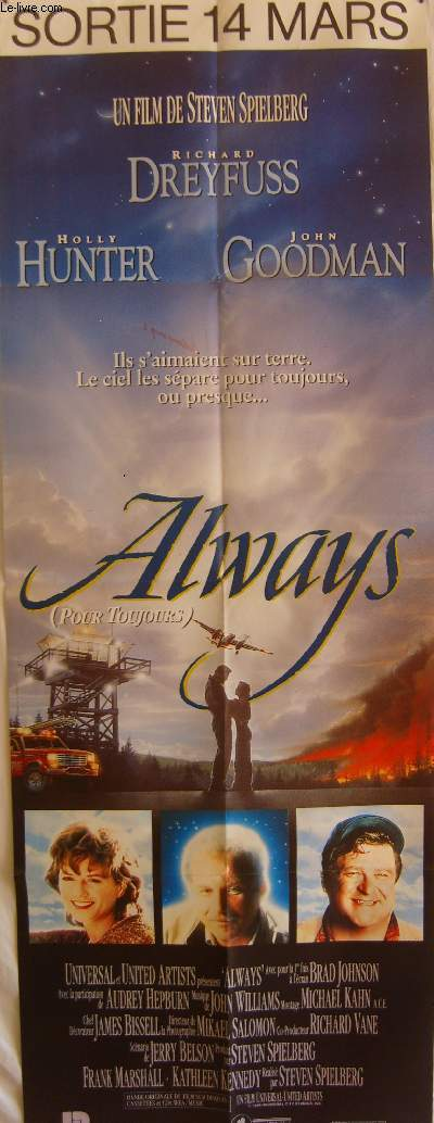 AFFICHE DE CINEMA - ALWAYS