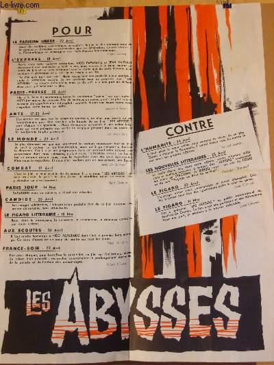 AFFICHE DIVERS - LES ABYSSES