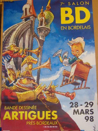 AFFICHE DIVERS - 7° SALON BD EN BORDELAIS