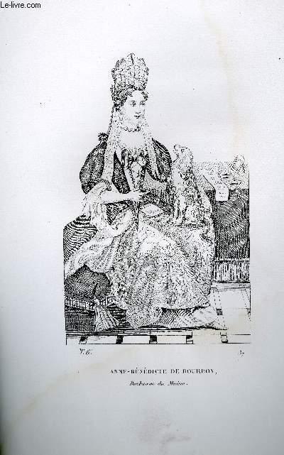 GRAVURE 19eme NOIR ET BLANC - ANNE-LOUISE-BENEDICTE DE BOURBON