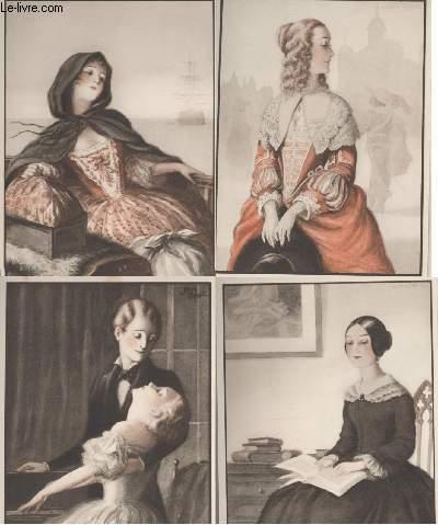GRAVURES 20eme - LA FEMME DANS LA LITTERATURE
