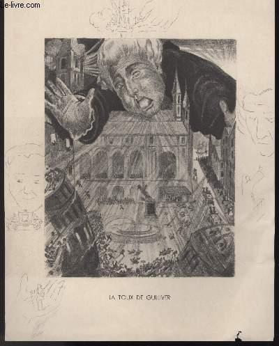 GRAVURES 20eme - III - LA TOUX DE GULLIVER