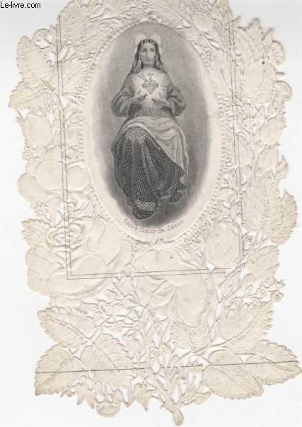 IMAGE PIEUSE - DENTELLE CANIVET - JESUS