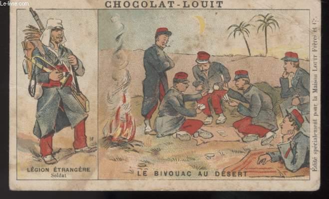 CHROMOLITHOGRAPHIE - LE BIVOUAC AU DESERT