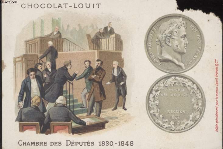 CHROMOLITHOGRAPHIE - CHAMBRE DES DEPUTES 1830 - 1848
