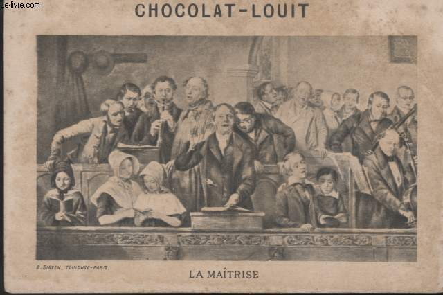CHROMOLITHOGRAPHIE - LA MAITRISE