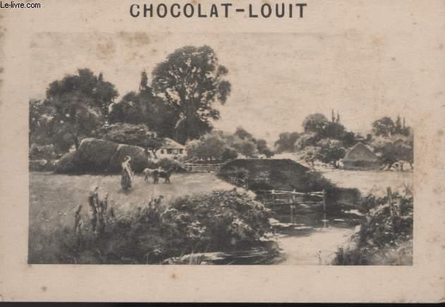 CHROMOLITHOGRAPHIE - CHOCOLAT-LOUIT