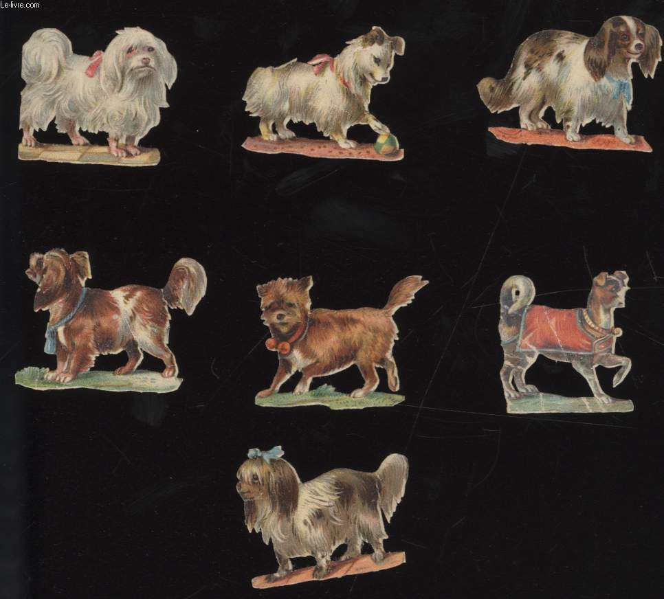 CHROMOLITHOGRAPHIES - CHIEN