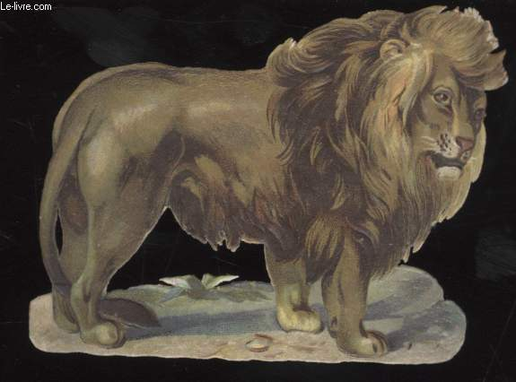 CHROMOLITHOGRAPHIE - LION