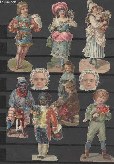CHROMOLITHOGRAPHIES - PERSONNAGES