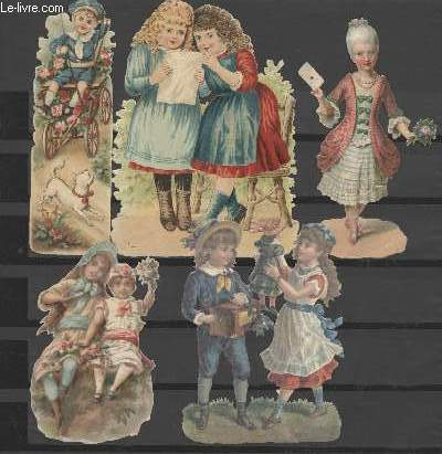 CHROMOLITHOGRAPHIE - PERSONNAGES