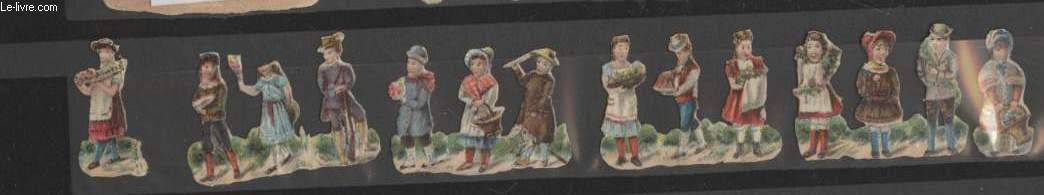 CHROMOLITHOGRAPHIES - ENFANTS