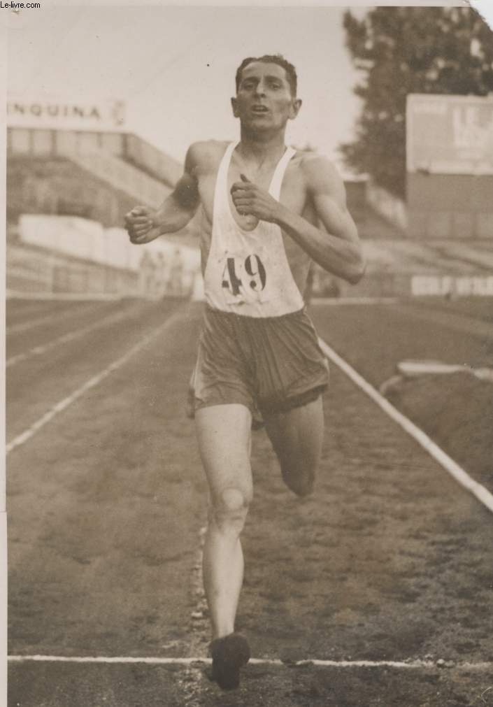 PHOTO ANCIENNE SITUEE - LE 47° CHAMPIONNAT DE FRANCE D'ATHLETISME