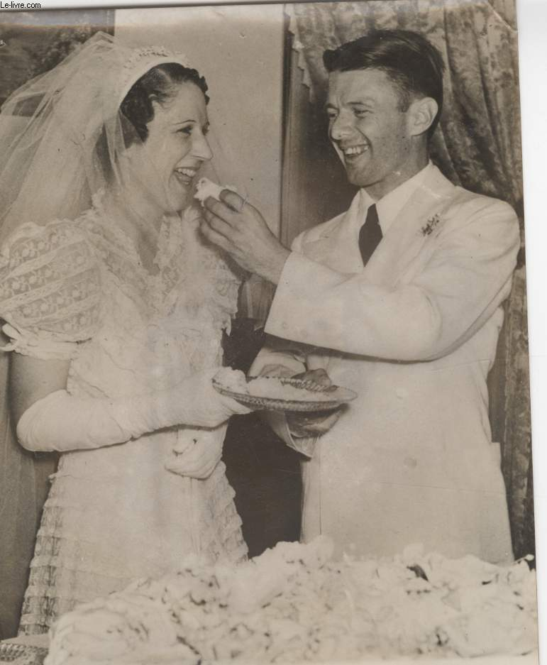 PHOTO ANCIENNE SITUEE - LE MARIAGE DU FOU VOLANT