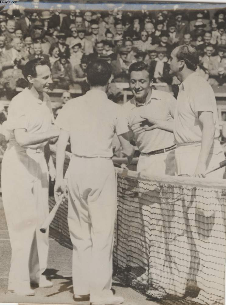 PHOTO ANCIENNE SITUEE - TOURNOI DE TENNIS DE WIMBLEDON