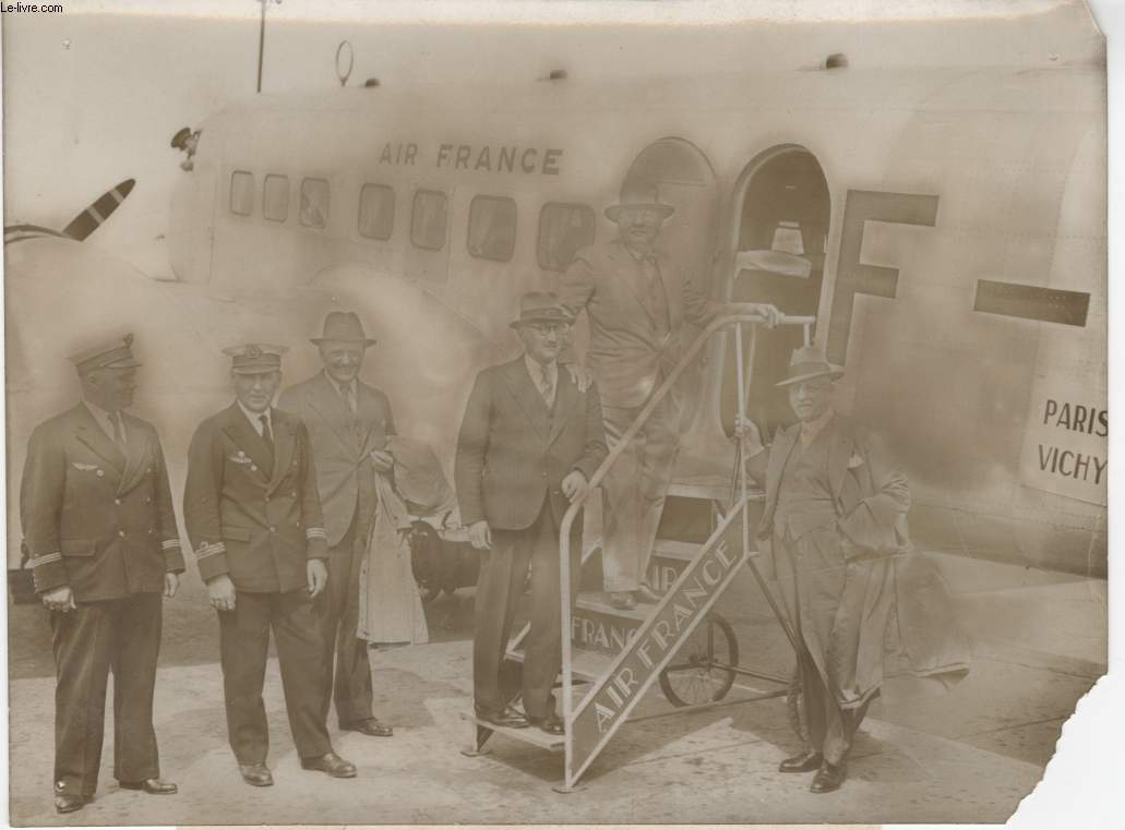 PHOTO ANCIENNE SITUEE - AIR FRANCE - PARIS VICHY