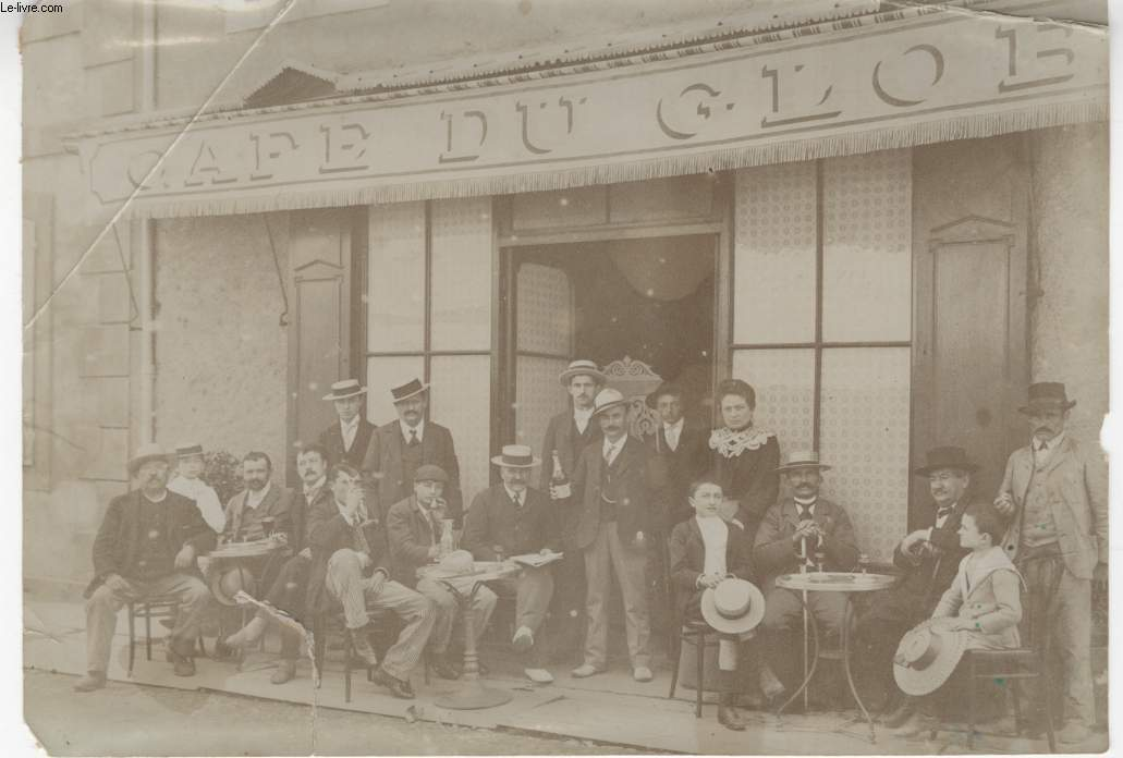 PHOTO ANCIENNE SITUEE - CAFE DU GLOBE