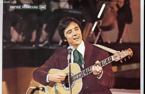 1 PHOTO EN COULEURS DE  SACHA DISTEL