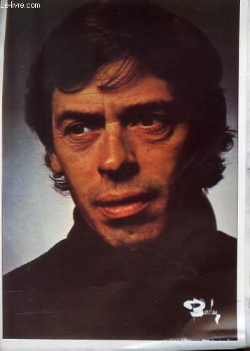 1 PHOTO EN COULEURS DE JACQUES BREL