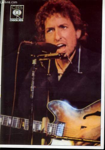 1 PHOTO EN COULEURS DE  BOB DYLAN