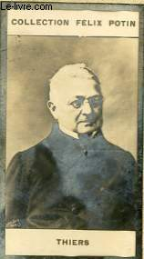 PHOTO  ANCIENNE DE THIERS  PRESIDENT DE LA REPUBLIQUE FRANCAISE