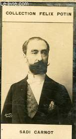 PHOTO ANCIENNE SADI CARNOT PRESIDENT DE LA REPUBLIQUE FRANCAISE