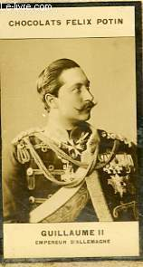 PHOTO ANCIENNE GUILLAUME II EMPEREUR D'ALLEMAGNE