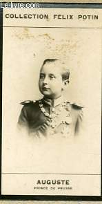 PHOTO ANCIENNE AUGUSTE PRINCE DE PRUSSE