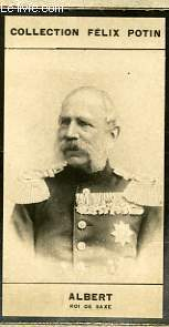 PHOTO ANCIENNE ALBERT ROI DE SAXE