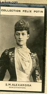 PHOTO ANCIENNE S.M ALEXANDRA REINE D'ANGLETERRE