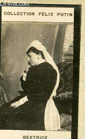PHOTO ANCIENNE  BEATRICE  PRICCESSE DE BATTENBERG