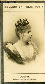 PHOTO ANCIENNE   LOUISE  PRINCESSE DE BELGIQUE