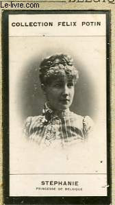 PHOTO ANCIENNE  STEPHANIE  PRINCESSE DE BELGIQUE
