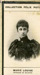 PHOTO ANCIENNE  MARIE LOUISE PRINCESSE DE BULGARIE