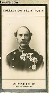 PHOTO ANCIENNE CHRISTIAN IX ROI DE DANEMARK