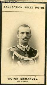 PHOTO ANCIENNE VICTOR EMMANUEL ROI D'ITALIE