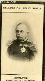 PHOTO ANCIENNE ADOLPHE GRAND DUC DE LUXEMBOURG