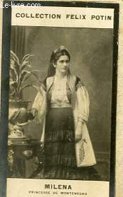 PHOTO ANCIENNE MILENA PRINCESSE DE MONTENEGRO