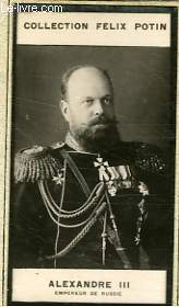 PHOTO ANCIENNE ALEXANDRE III EMPEREUR DE RUSSIE