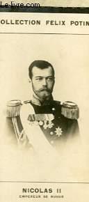 PHOTO ANCIENNE NICOLAS II EMPEREUR DE RUSSIE