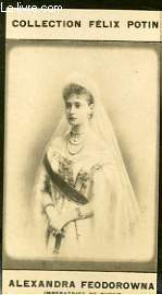 PHOTO ANCIENNE ALEXANDRA FEODOROWNA IMPERATRICE DE RUSSIE