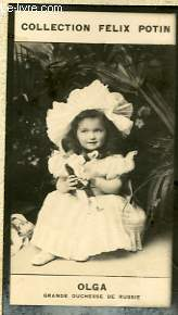 PHOTO ANCIENNE OLGA GRANDE DUCHESSE DE RUSSIE
