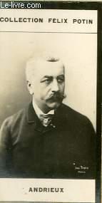 PHOTO ANCIENNE ANDRIEUX  HOMME POLITIQUE FRANCAIS