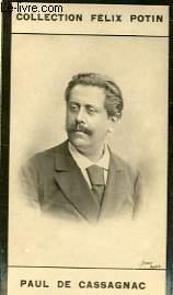 PHOTO ANCIENNE PAUL DE CASSAGNAC HOMME POLITIQUE FRANCAIS