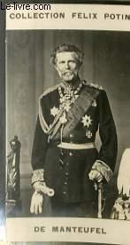 PHOTO ANCIENNE DE MANTEUFEL HOMME POLITIQUE ALLEMAND