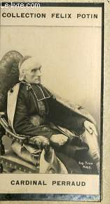 PHOTO ANCIENNE CARDINAL PERRAUD CLERGE DE FRANCE